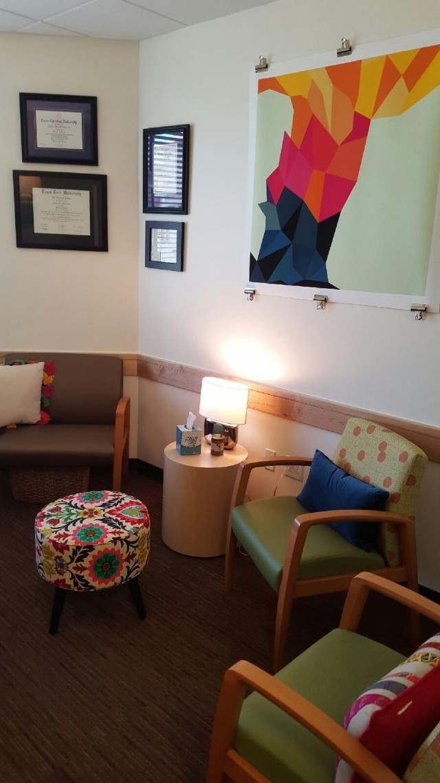 Therapists office at ERC Pathlight San Antonio